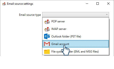 choosing a gmail account