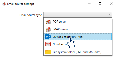 using Outlook to parse emails