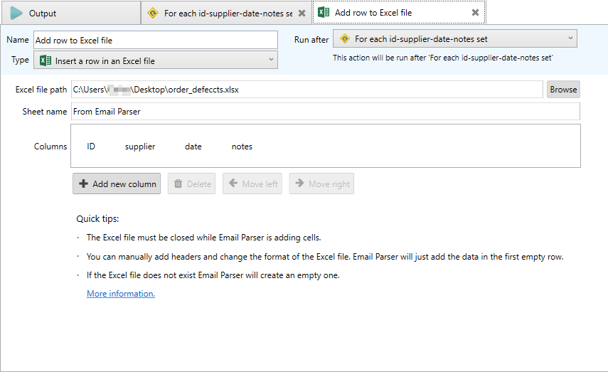 how to export outlook email to an excel spreadsheet