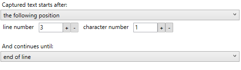 other parsing options