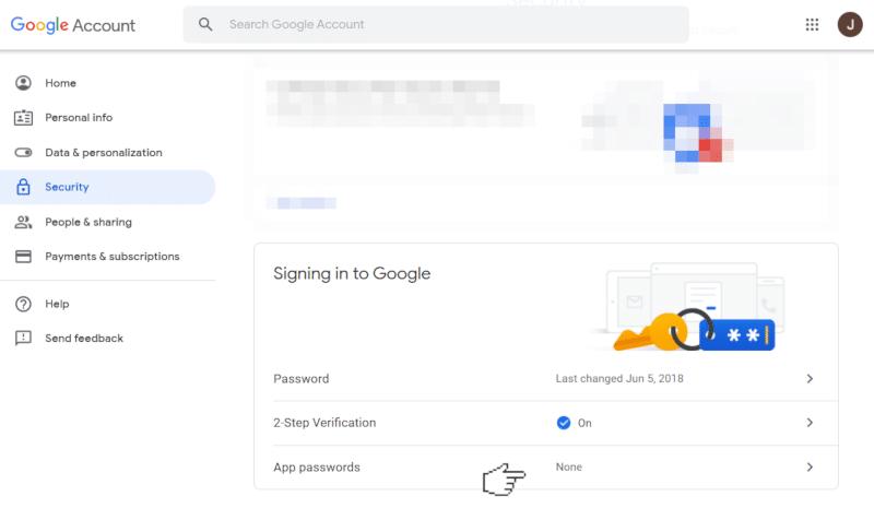 choosing gmail