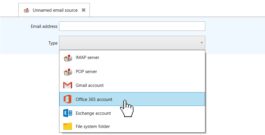 setting up Office 365 parsing